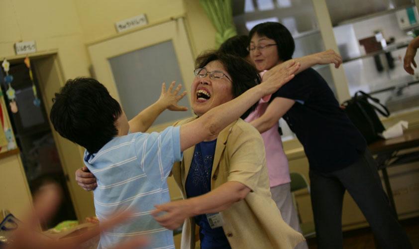 Humanitarian Aid for Survivors of 2011 Tsunami in Japan